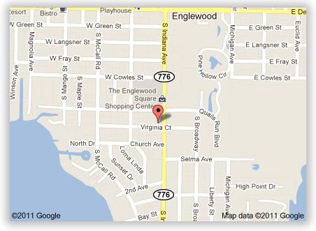 Map of Lasbury Tracy Location