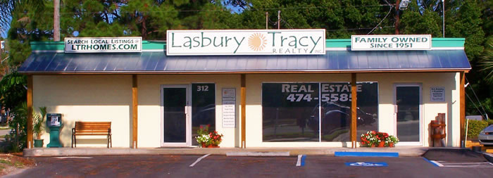 Photo of Lasbury Tracy's office